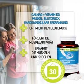 CalMag + Vitamin D3  (60 Stk.)