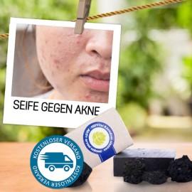 Seife bei Akne - mit medizinischer Aktivkohle 95 g