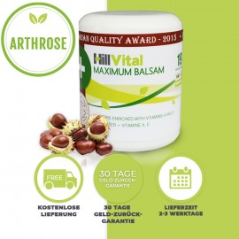 Salbe bei Arthrose - Maximum Balsam (250 ml)