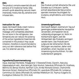 Dermasoft - Salbe bei EKZEMEN (250 ml)