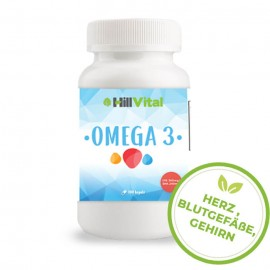 Omega-3-Fettsäuren - Fischöl - 1000 mg - 100 Kapseln