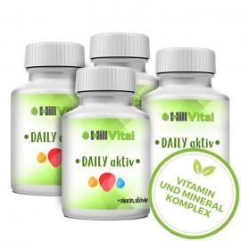 Daily Aktiv - ein Vitamin und Mineral Komplex (4x) 100ml