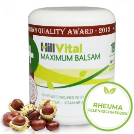 Maximum Balsam – bei Arthrose, Rheuma, Arthritis und Gelenkschmerzen 250 ml
