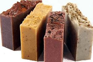 Handgemachte Naturseifen für die Hautpflege